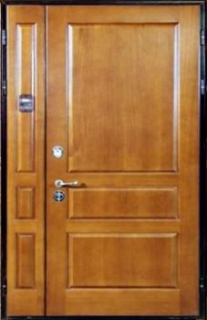 двустворчатые металлические подъездные двери на заказ